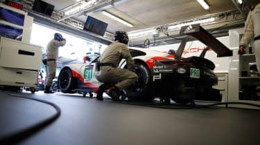 Le Mans test day 2017 - 911 RSR 3