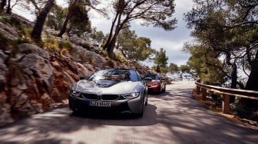 BMW i8 Roadster - front