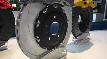 Bermuda two-peice cast iron brake disc - 2017 Frankfurt motor show