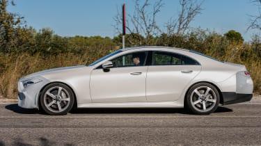 Mercedes-Benz CLS spy - profile