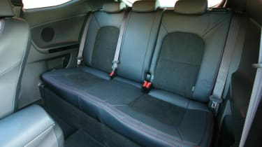 Kia Proceed GT rear seats