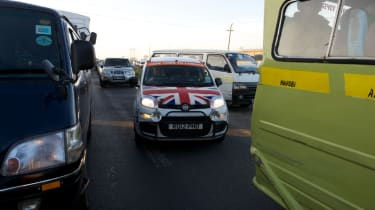 Fiat Panda Africa record run - Day 4