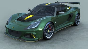Lotus Exige 430 Cup Type 25 – front quarter