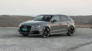 Audi RS3 Sportback Grey front 2