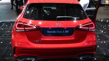 Mercedes-Benz A-class – rear