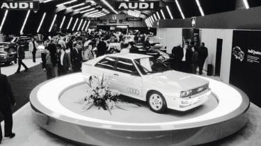 Audi Quattro - show