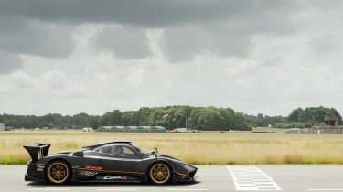 Pagani Zonda R at Top Gear test track