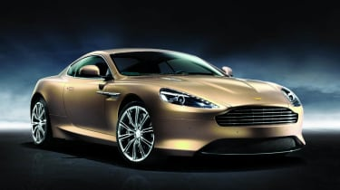 Aston Martin Virage coupe Dragon 88