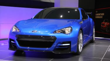 Subaru BRZ STI concept front