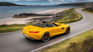 Mercedes-AMG GT S Roadster – rear quarter