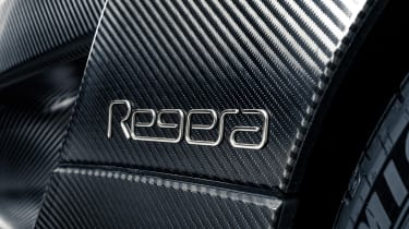 Koenigsegg Regera KNC - badge