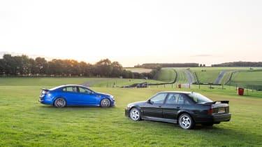 VXR8 GTS-R vs Carlton - rear static