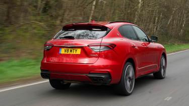 Maserati Levante Trofeo – rear tracking
