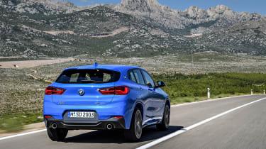 BMW X1 M Sport - rear quarter driving