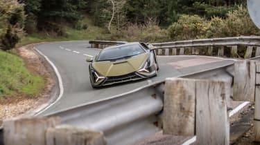 Lamborghini Sian - nose