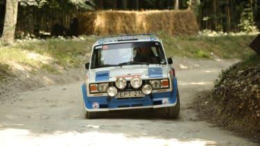Lada rally car