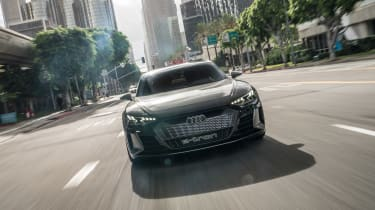 Audi e-tron GT Concept drive - front