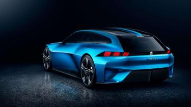 Peugeot Instinct Concept - rear three quarter