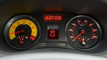 Renaultsport Clio 200 Cup dashboard