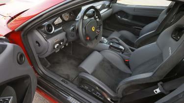 Ferrari 599 HGTE interior