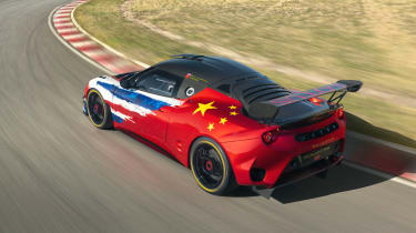 Lotus Evora GT4 Concept - top