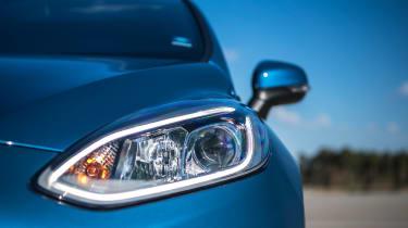 2018 Ford Fiesta ST –headlight