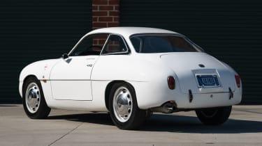 1960 Alfa Romeo Giulietta SZ Zagato rear