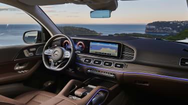 Mercedes GLS - dash
