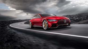 Mercedes-AMG GT Concept press