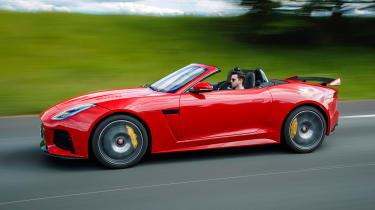 2018 Jaguar F-type SVR - Side