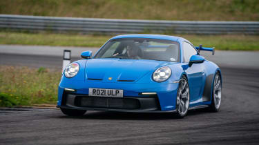 992 Porsche 911 GT3 manual – front cornering