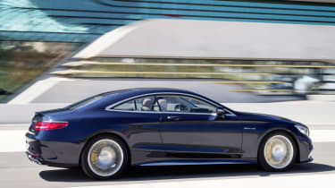 Mercedes S65 AMG Coupe side