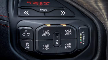 Ram 1500 TRX – drive modes