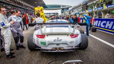 FIA WEC Shanghai Porsche on the grid