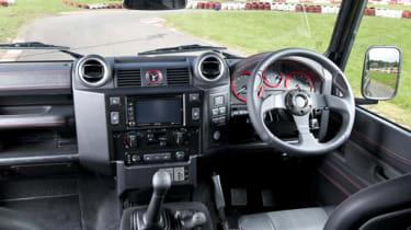 Urban Truck's ultimate Defender interior