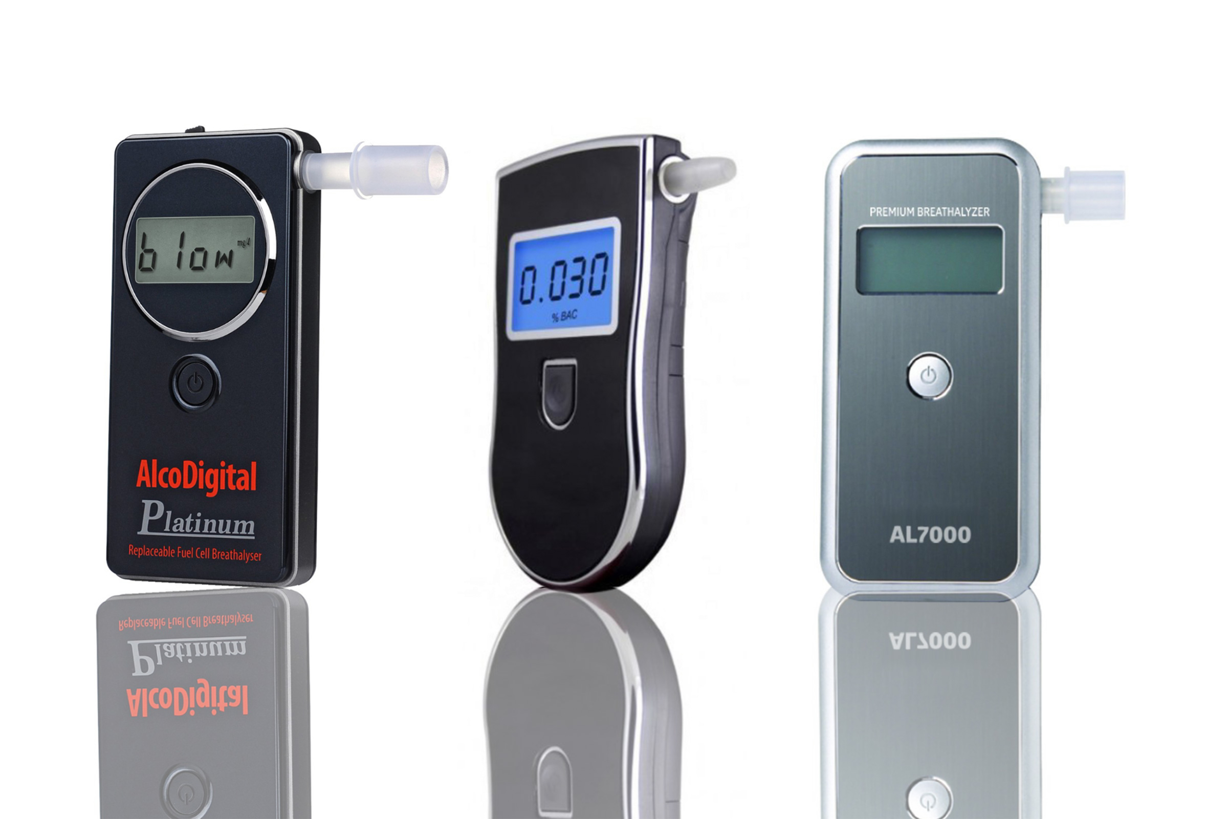 AlcoSense Excel Fuel Cell Breathalyzer Alcohol Tester Breathalyser Breath Tester