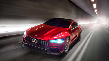 Mercedes-AMG GT Concept front driving