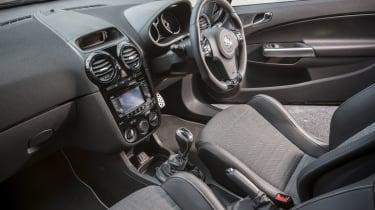 Vauxhall Corsa VXR Clubsport interior Recaro seats