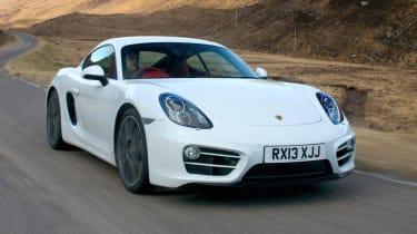 2013 Porsche Cayman 2.7 white
