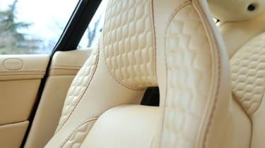 Aston Martin V12 Vanquish leather seat
