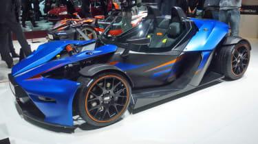KTM X-Bow GT live Geneva show pictures