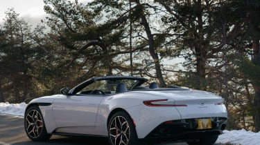 Aston Martin DB11 Volante - rear quarter