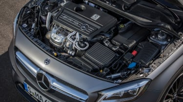 2017 Mercedes-AMG GLA45 - Engine