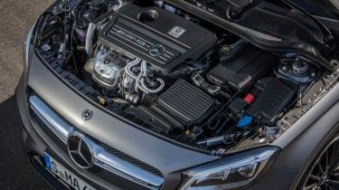 2017 Mercedes-AMG GLA45 - Engine