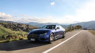 Maserati Ghibli MY2021 – front tracking