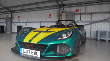 evo Trackday Bedford 27AUG - Lotus