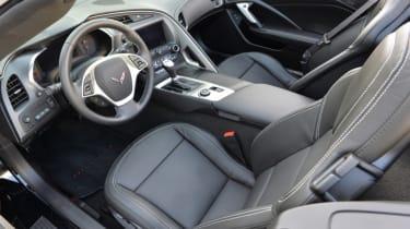 Hennessey's 700bhp Corvette Z06 interior