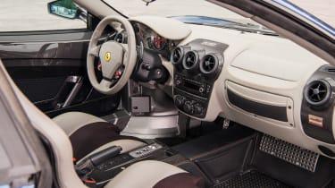 Ferrari 430 Scuderia interior