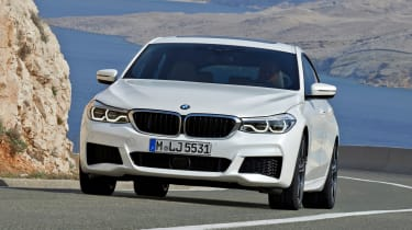 BMW 6-series GT - front driving 4