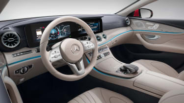 Mercedes-Benz CLS – interior